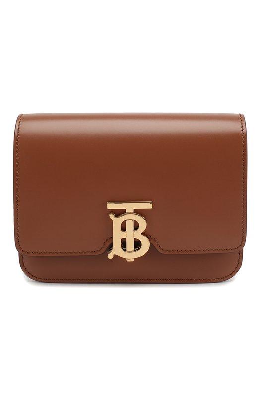 Купить Поясная сумка TB Burberry, 8012205, Италия, Коричневый, Кожа натуральная: 100%;
