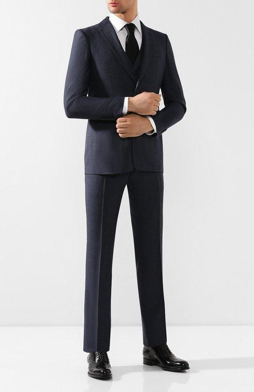 Шерстяной костюм-тройка Burberry