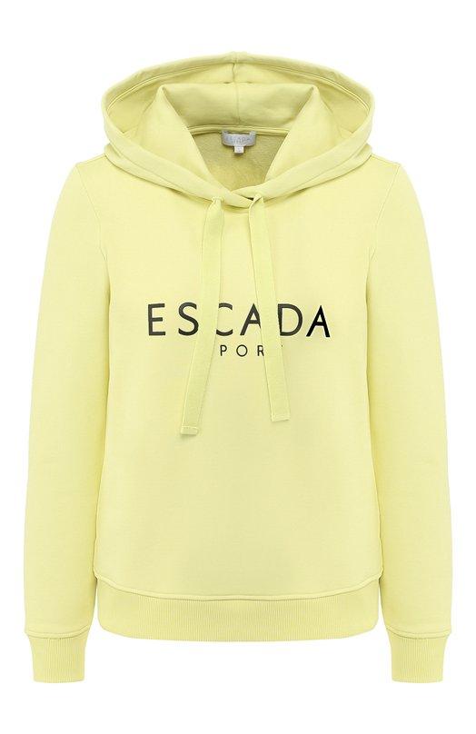 Худи с логотипом бренда Escada Sport