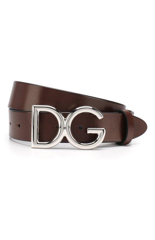 Купить Кожаный ремень Dolce & Gabbana, BC4247/AI894, Италия, Коричневый, Кожа: 100%;
