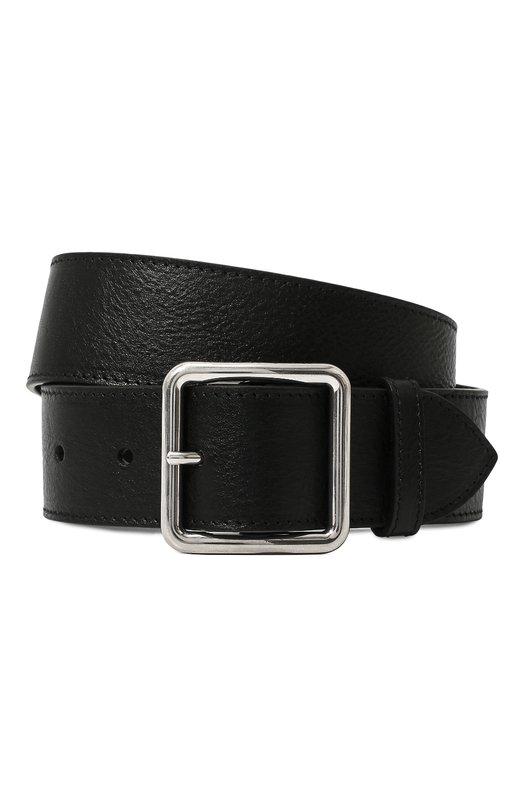 Купить Кожаный ремень Alexander McQueen, 558449/1AC0Y, Италия, Черный, Кожа натуральная: 100%;