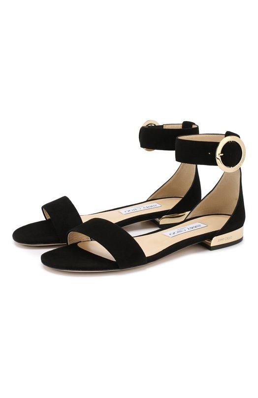 Замшевые сандалии Jamie Jimmy Choo
