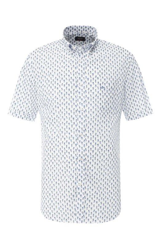 Купить Хлопковая рубашка Paul&Shark, E19P3333, Италия, Белый, Хлопок: 100%;