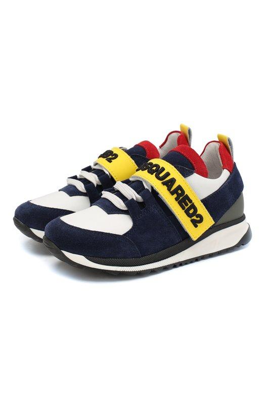 Кожаные кроссовки Dsquared2