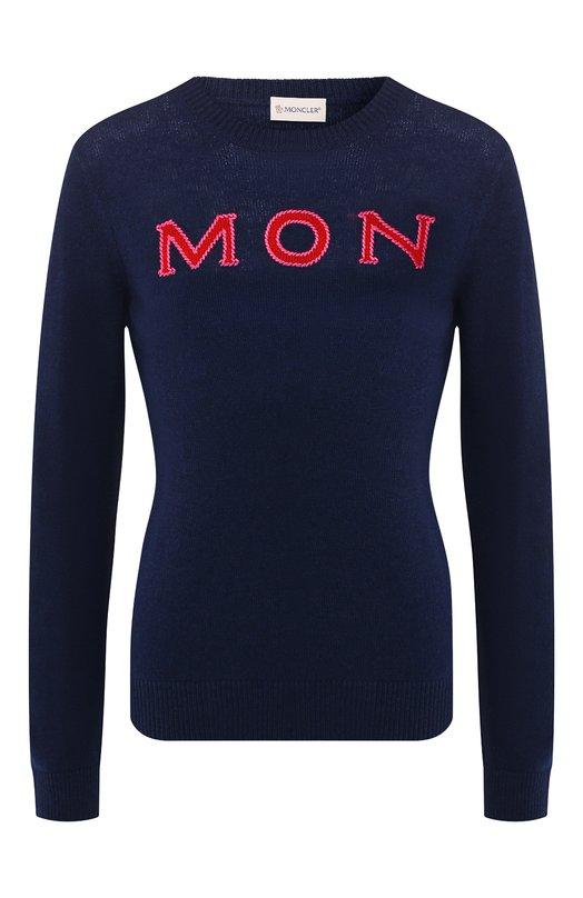 Кашемировый пуловер Moncler