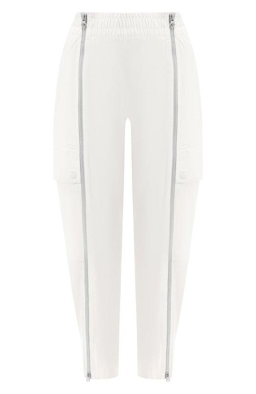 Купить Укороченные брюки adidas by Stella McCartney, DW9574, Индонезия, Белый, Полиамид: 91%; Эластан: 9%;