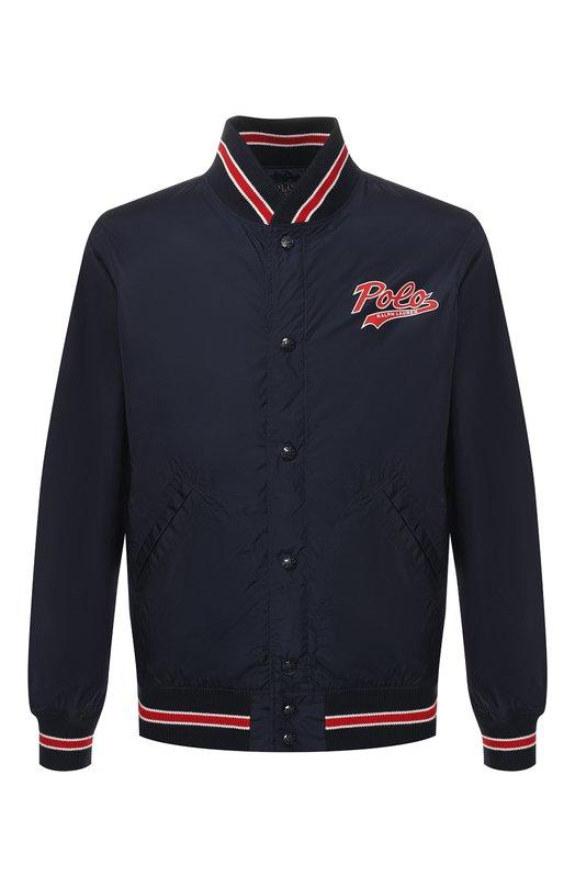 Купить Бомбер Polo Ralph Lauren, 710741087, Китай, Темно-синий, Подкладка-текстиль: 100%; Полиамид: 100%;