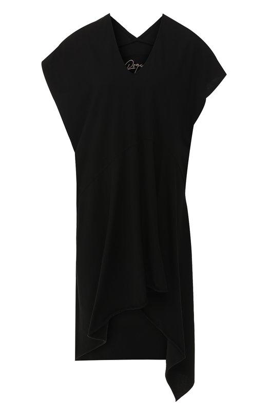 Купить Хлопковое платье Roque, RLAX108/1, Италия, Черный, Хлопок: 100%;