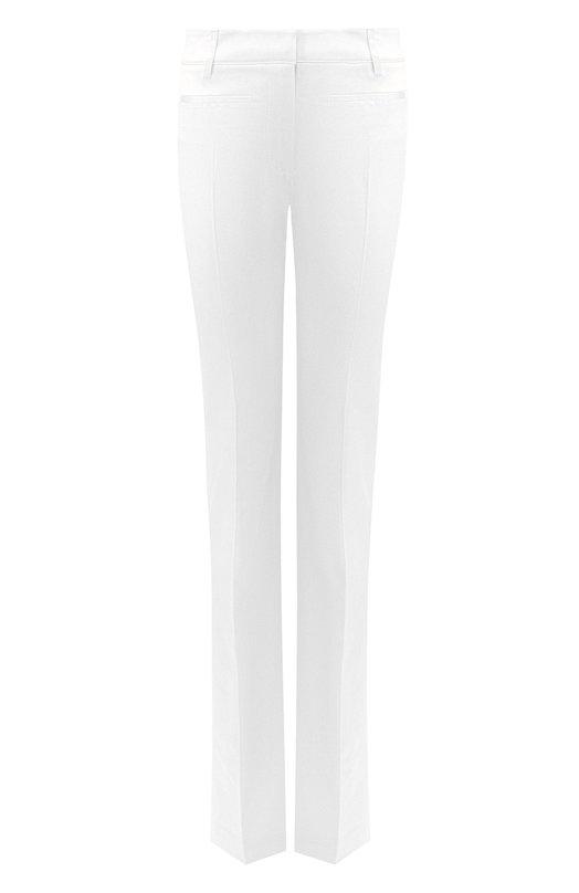 Купить Расклешенные брюки Tom Ford, PAW159-FAX469, Италия, Белый, Хлопок: 56%; Вискоза: 42%; Эластан (Полиуретан): 2%;