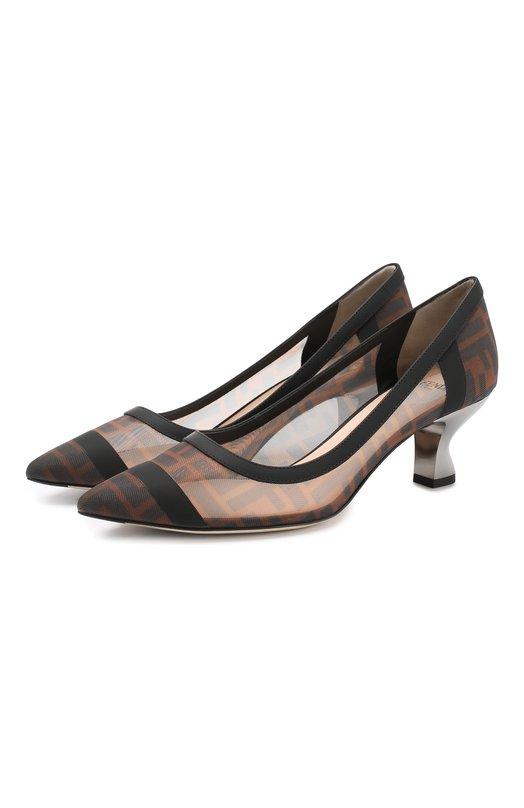 Текстильные туфли Fendi Fendi
