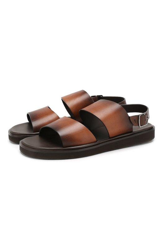 Кожаные сандалии Santoni