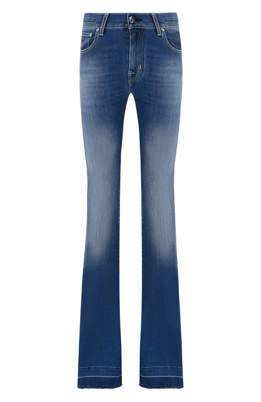 Купить Расклешенные джинсы Jacob Cohen, FRIDA 08768-W4, Италия, Синий, Хлопок: 92%; Эластомультиэстер: 6%; Эластан (Полиуретан): 2%;