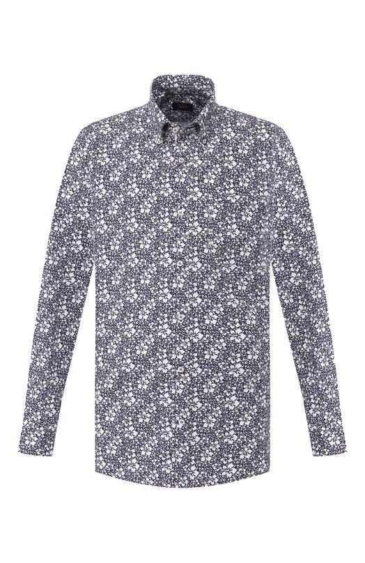 Купить Хлопковая рубашка Paul&Shark, P19P3400, Италия, Разноцветный, Хлопок: 100%;