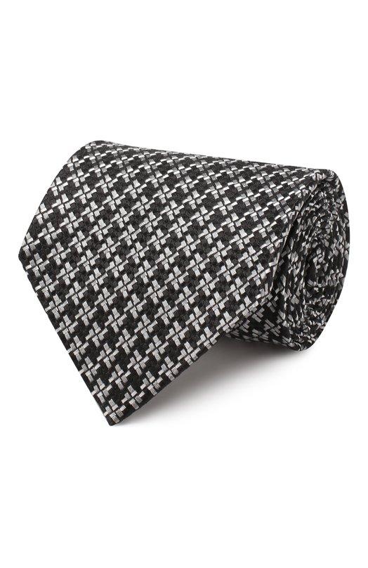 Купить Шелковый галстук Tom Ford, 5TF47/XTF, Италия, Черный, Шелк: 100%;