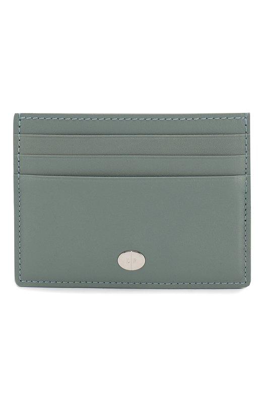 Купить Кожаный футляр для кредитных карт Artemis Loro Piana, FAI5449, Италия, Бирюзовый, Кожа натуральная: 100%;