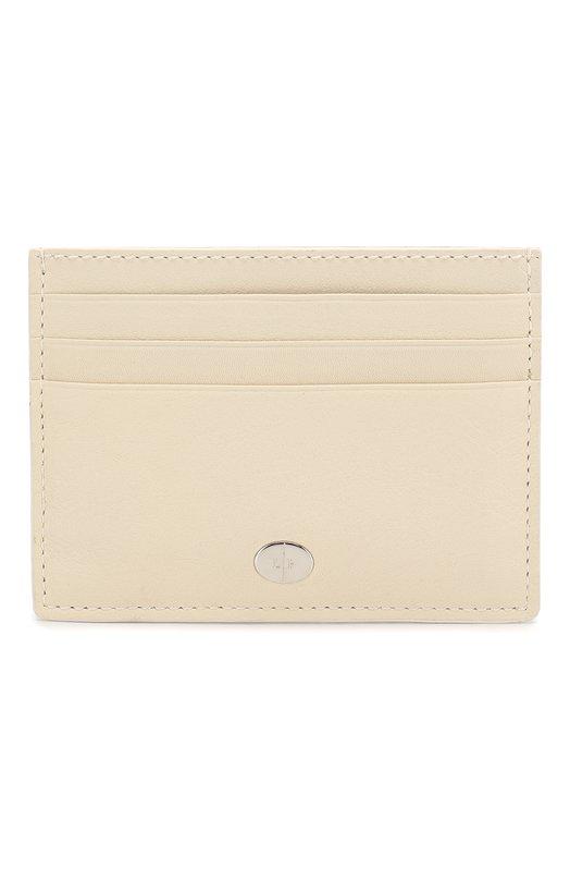 Купить Кожаный футляр для кредитных карт Artemis Loro Piana, FAI5449, Италия, Кремовый, Кожа натуральная: 100%;