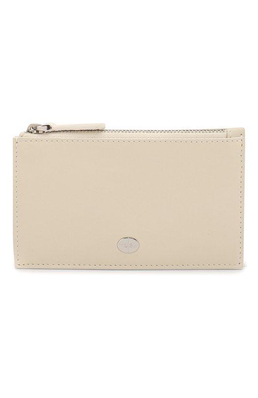 Купить Кожаный футляр для кредитных карт Artemis Loro Piana, FAI5451, Италия, Кремовый, Кожа натуральная: 100%;