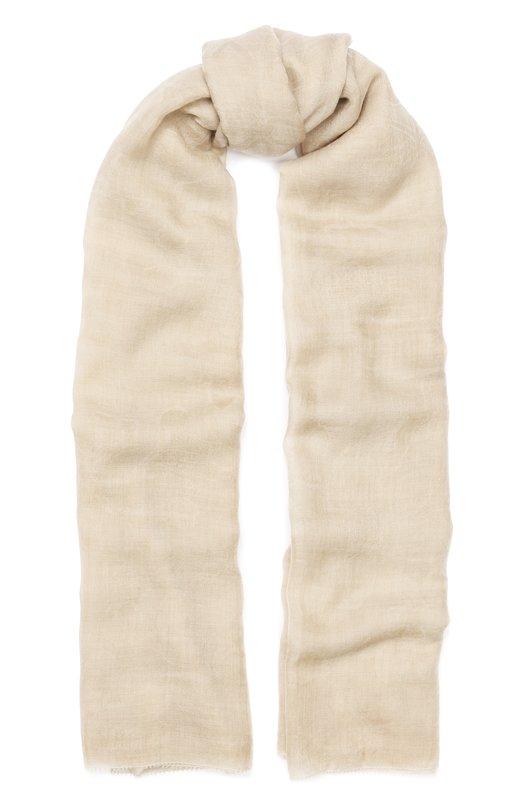 Купить Кашемировый шарф Faliero Sarti, E19 2065, Италия, Бежевый, Кашемир: 100%;
