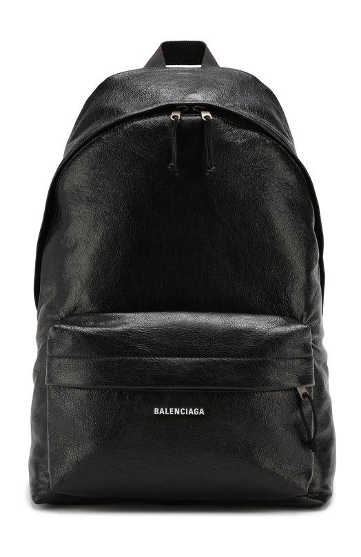 Купить Кожаный рюкзак Explorer Balenciaga, 503221/DB5K5, Италия, Черный, Кожа: 100%;