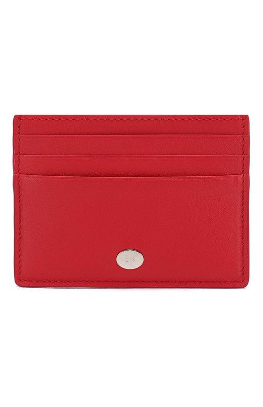 Купить Кожаный футляр для кредитных карт Artemis Loro Piana, FAI5449, Италия, Красный, Кожа натуральная: 100%;