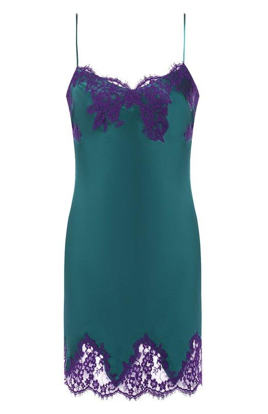 Купить Шелковая сорочка Lise Charmel, ALC1080_бир, Франция, Бирюзовый, Шелк: 100%;