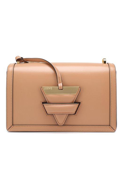 Купить Сумка Barcelona Loewe, 302.74XM15, Испания, Светло-розовый, Кожа натуральная: 100%;