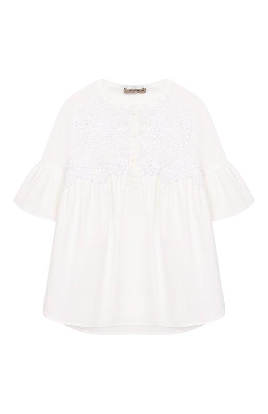 Хлопковая блузка Ermanno Scervino