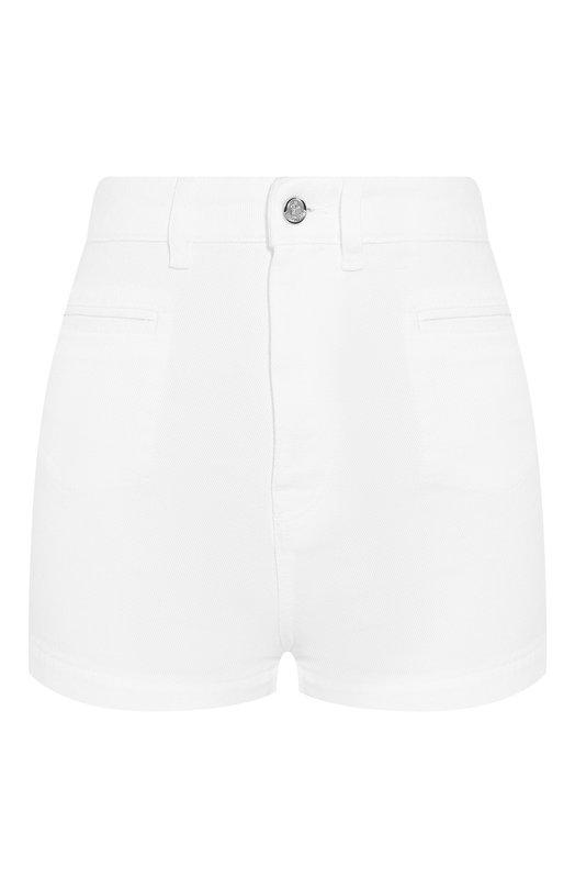 Купить Джинсовые шорты Moncler, E1-093-18420-05-54A77, Италия, Белый, Хлопок: 100%;