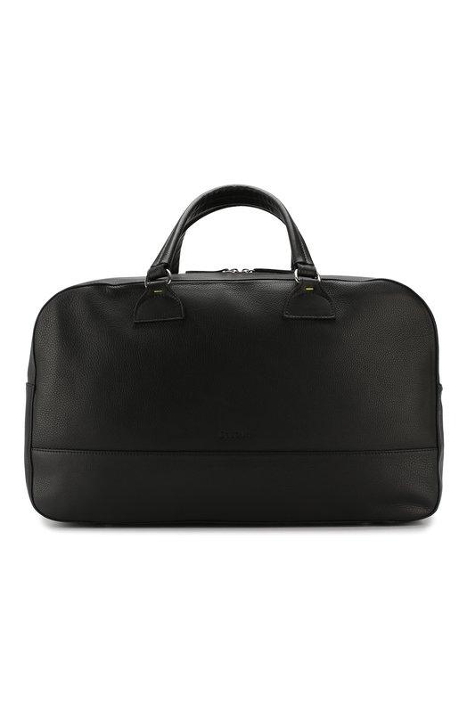 Купить Кожаная дорожная сумка Doucal's, DV0001--03UF0390N00, Италия, Черный, Кожа натуральная: 100%;