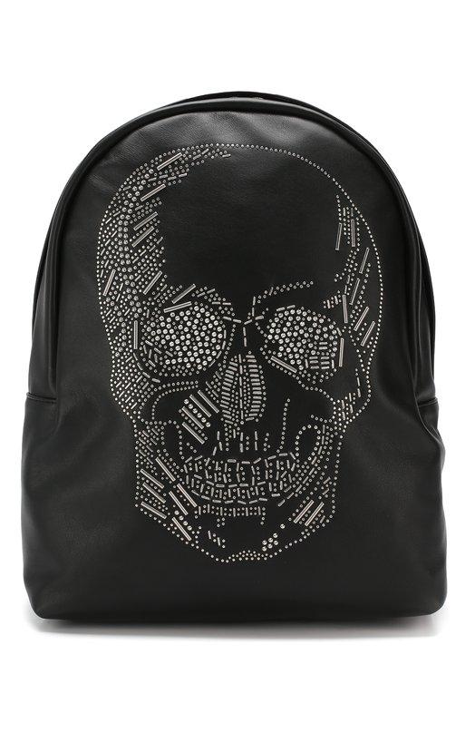 Купить Кожаный рюкзак Alexander McQueen, 550797/1BI4N, Италия, Черный, Кожа натуральная: 100%;