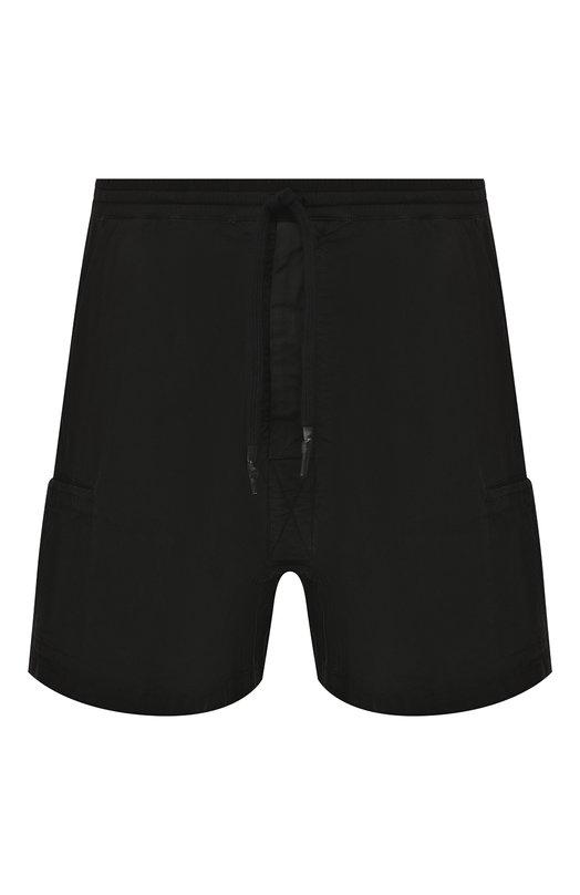 Купить Хлопковые шорты 11 by Boris Bidjan Saberi, P25/F-1426/DYE, Испания, Черный, Хлопок: 97%; Эластан (Полиуретан): 3%;