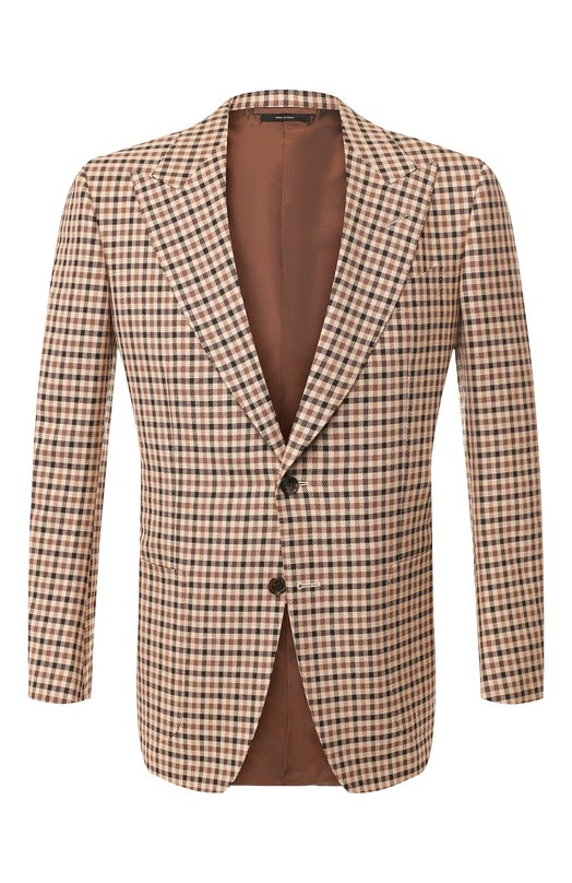 Пиджак из смеси шерсти и шелка Tom Ford