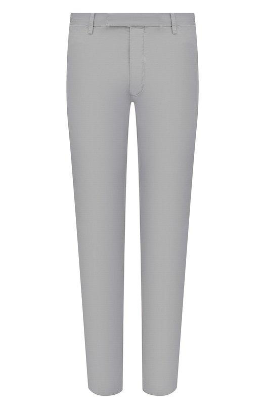 Купить Хлопковые брюки Polo Ralph Lauren, 710644988, Индонезия, Серый, Хлопок: 97%; Эластан (Полиуретан): 3%;