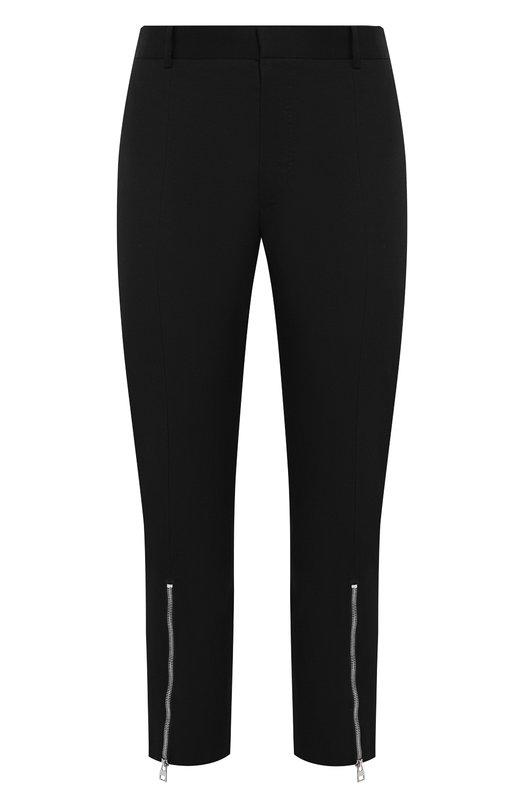 Купить Хлопковые брюки Alexander McQueen, 557130/QMS11, Румыния, Черный, Подкладка-хлопок: 100%; Хлопок: 100%;