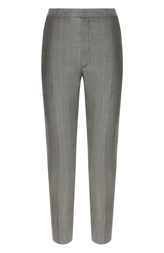 Купить Хлопковые брюки Alexander McQueen, 547716/QMU57, Румыния, Серый, Шерсть: 70%; Мохер: 30%; Подкладка-хлопок: 100%;