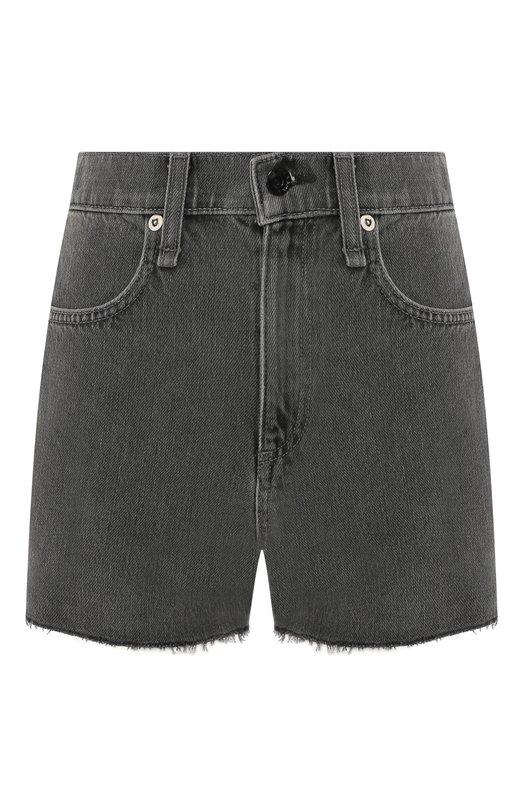 Купить Джинсовые шорты Rag&Bone, W1954I252SHD, США, Серый, без подкладки: 100%; Хлопок: 100%;