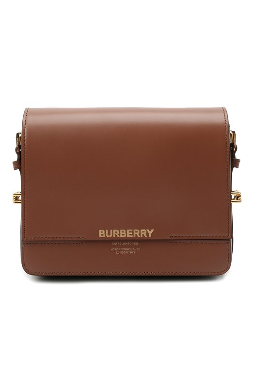Купить Сумка Horseferry Burberry, 8012004, Италия, Коричневый, Кожа натуральная: 100%;