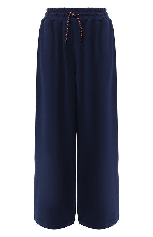 Купить Хлопковые брюки Dries Van Noten, 191-11115-7617, Турция, Синий, Хлопок: 100%;