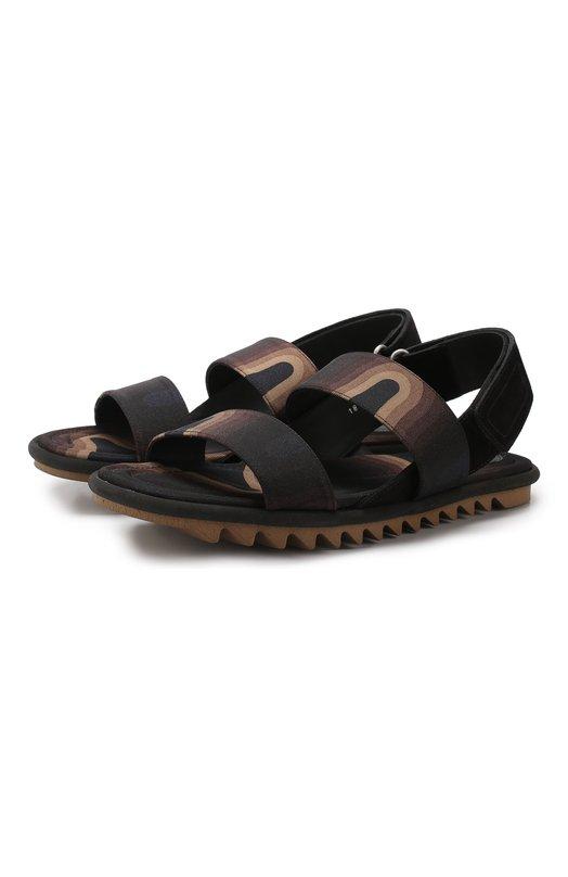 Комбинированные сандалии Dries Van Noten