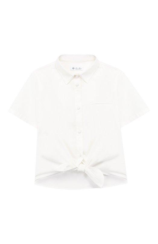 Хлопковая блузка Loro Piana