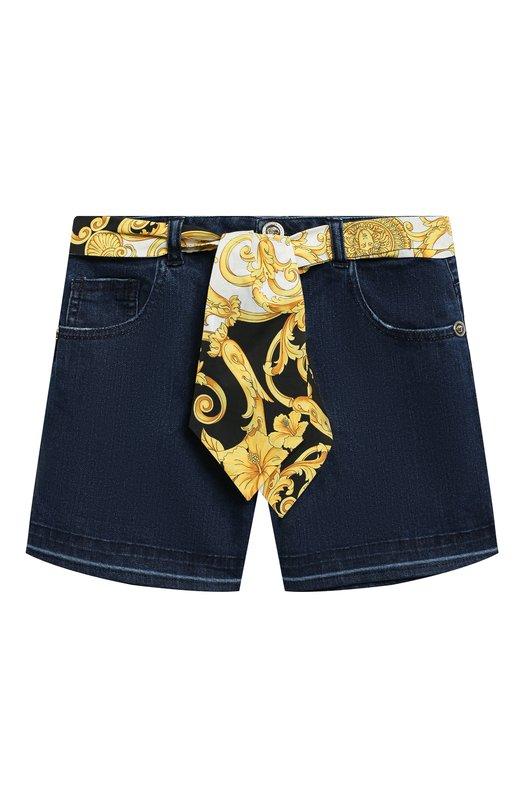 Джинсовые шорты Young Versace