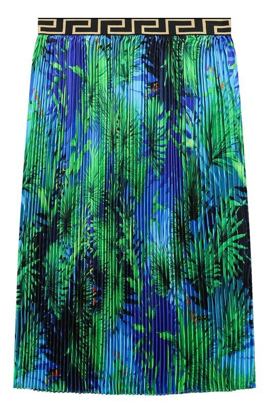 Шелковая юбка Young Versace