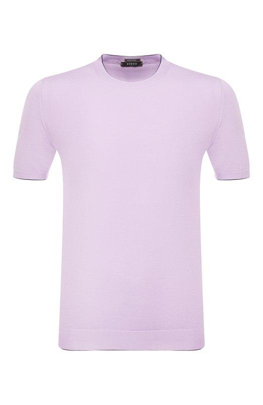 Купить Хлопковая футболка Svevo, 4650/3SE19/MP46, Италия, Сиреневый, Хлопок: 100%;