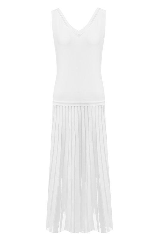 Купить Платье-миди D.Exterior, 48287, Италия, Белый, Вискоза: 77%; Полиэстер: 23%; Подкладка-полиамид: 100%;