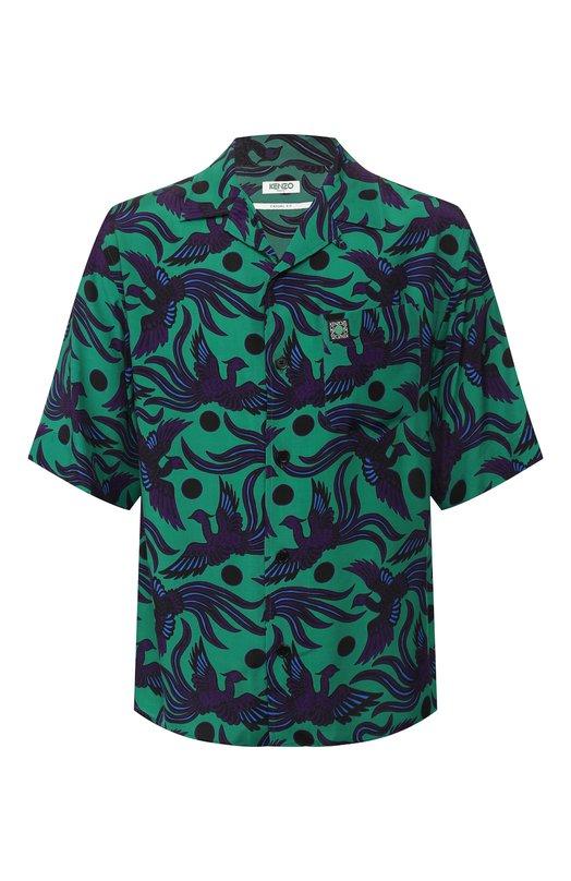 Рубашка из вискозы Kenzo