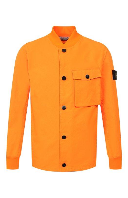 Купить Куртка Stone Island, 701544648, Италия, Оранжевый, Подкладка-полиэстер: 83%; Полиэстер: 70%; Полиамид: 30%; Подкладка-полиамид: 17%;