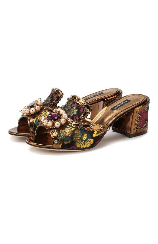 Текстильные мюли Keira Dolce & Gabbana