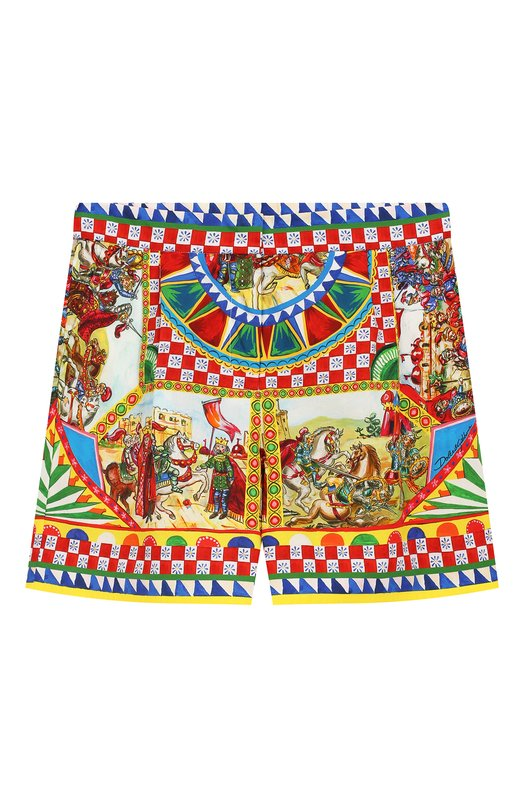 Хлопковые шорты Dolce & Gabbana