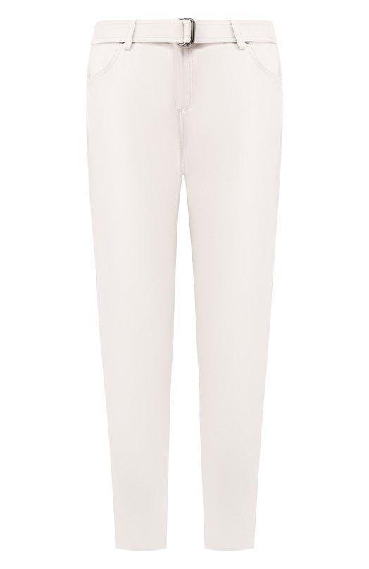 Купить Кожаные брюки Tom Ford, PAL647-LEX181, Италия, Белый, Подкладка-шелк: 94%; Подкладка-эластан (полиуретан): 6%; Кожа: 100%; Кожа натуральная: 100%;