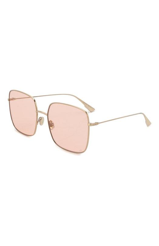Купить Солнцезащитные очки Dior, DI0RSTELLAIRE1 J5G, Италия, Светло-розовый, Оправа-металл; Линзы-поликарбонат;